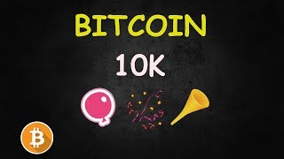 Bitcoin 10K Party - Let's Go! 🔴 LIVE Cryptocurrency