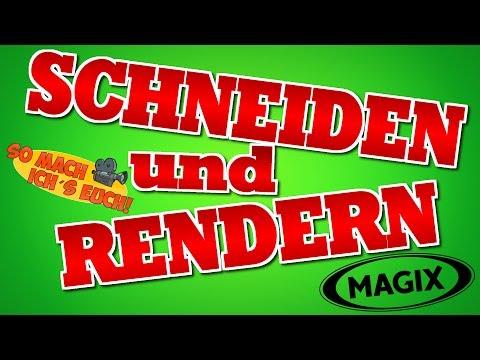Video SCHNEIDEN und RENDERN | Magix Video Deluxe 2014