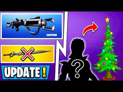 *NEW* Fortnite Update! | 7.10 Info, New Zapotron Item, Risky Rust POI!