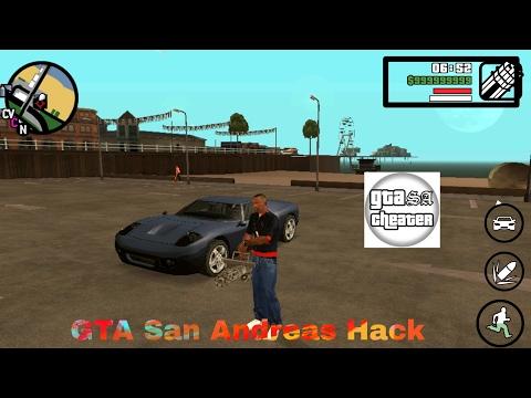 GTA San Andreas . Hack +Download |Apk and Obb + GTA SA Cheater Hack