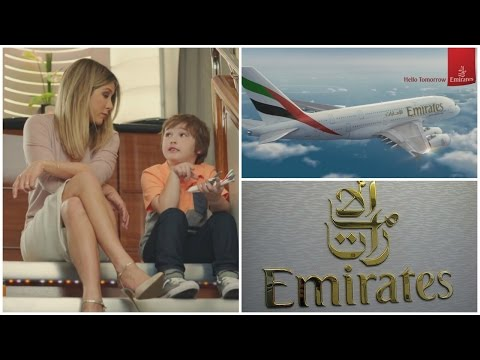 Emirates | Comercial | Jennifer Anniston | A380 (Legendado)