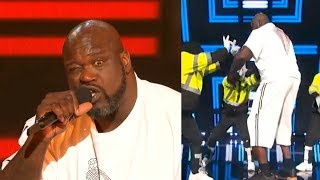 Shaq performs & dances with Jabbawockeez at 2019 NBA Awards Video