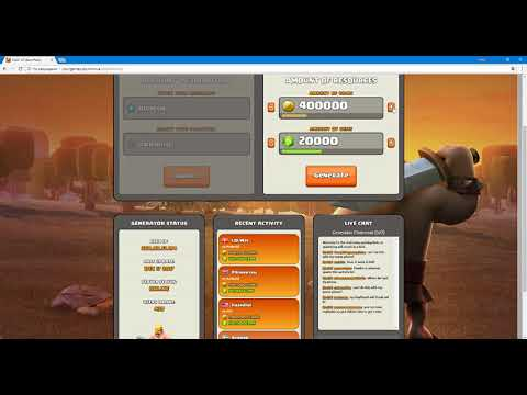Latest Clash of Clans hack tool Unlimited coins and gems 2017 Cheat