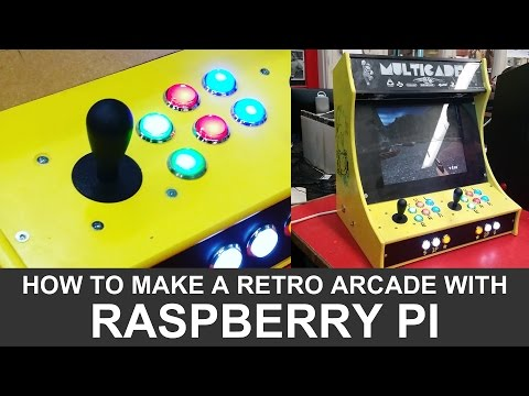 How to make a DIY Raspberry Pi Arcade Cabinet!
