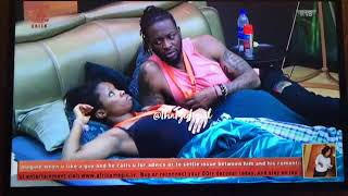 BBNaija3 Day38: Teddy A Tells Bambam about Convo with IFU Part 1