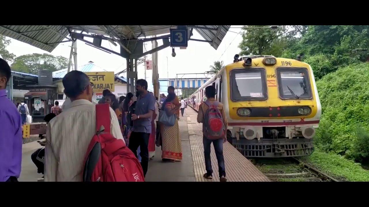 Travelling Dadar To Khopoli Mumbai Local Train Mumbai Max.