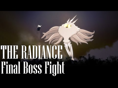 Hollow Knight [The Radiance - Final Boss Fight - True Good Ending] - Gameplay PC
