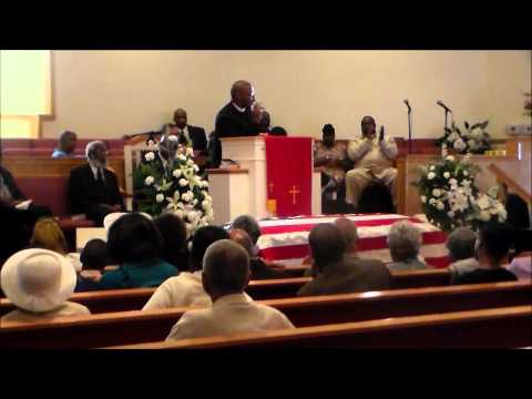 Rev Brandon Lee Clark Sr at Granddaddy's Homegoing Service