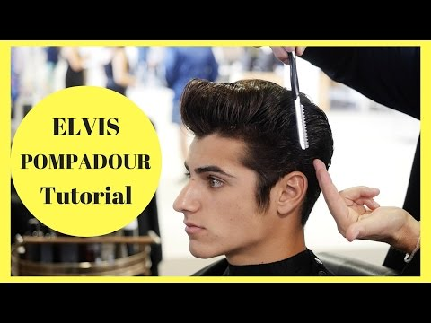 Elvis Pompadour Tutorial - In Partnership with American Crew