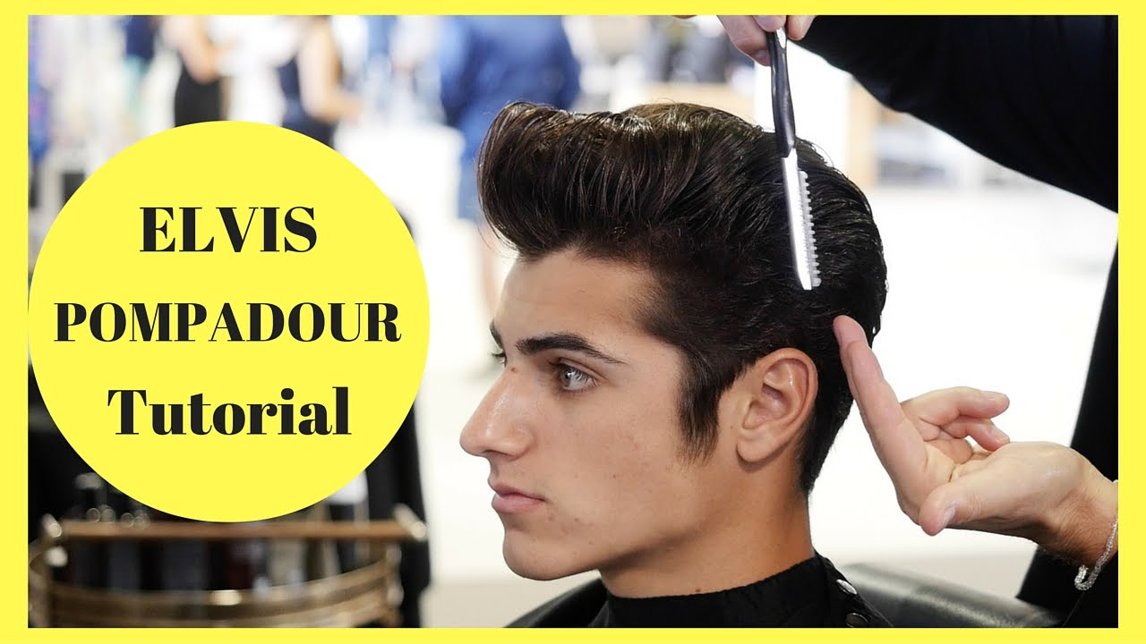 Elvis Pompadour Tutorial In Partnership With American Crew Youtube