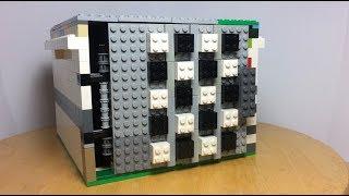 сейф из Лего с пятизначным кодом!