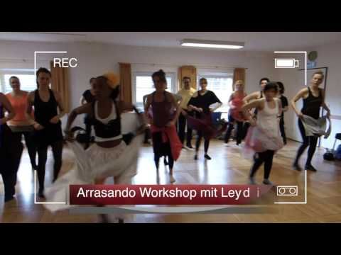 Workshop Leydis Arrasando Festival