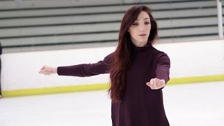 Skating Lessons with Olympic Champ Meryl Davis