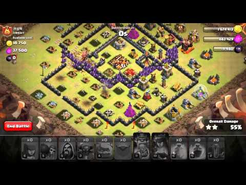 Beating up a TH10 in war, level 2 earthquake spells are they worth it?