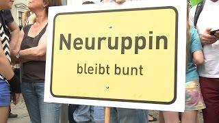 Nazidemo Neuruppin am 06.06.2015