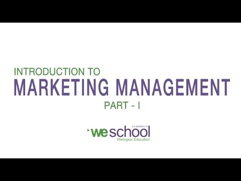 Marketing Management Lectures