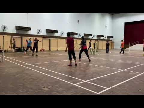 Badminton Friendly Match Away Mazwan & Ajak Vs FBT Keramat