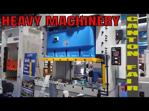 Canton Fair October 2019 Phase 1 Hall 1.1 - Heavy Machinery & Equipment