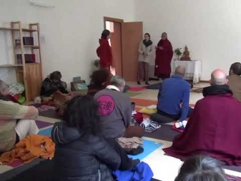 Teaching Mindfulness-Based Vipassanā Meditstion Technique in Italy