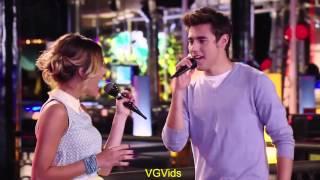 Violetta 3   Violetta y Leon cantan 'Descubrí' y se besan Show HD