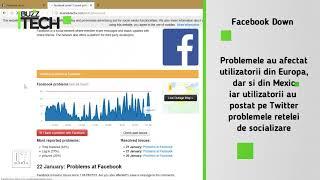 Facebook inaccesibila utilizatorilor in cursul zilei de ieri