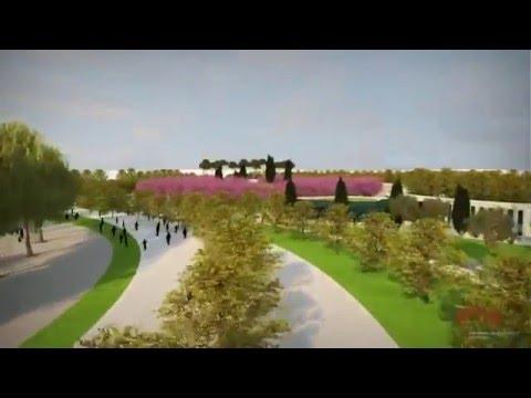 Проект парка возле нового стадиона «Краснодар».
