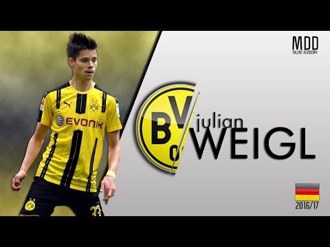 Julian Weigl | Borussia Dortmund | Goals, Skills, Assists | 2015-2017 - HD
