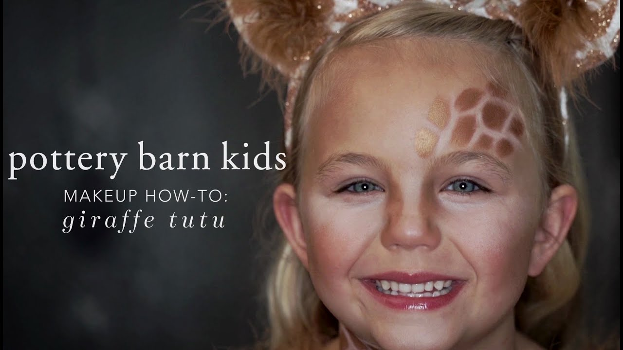 Halloween Makeup How To Giraffe Tutu Pottery Barn Kids