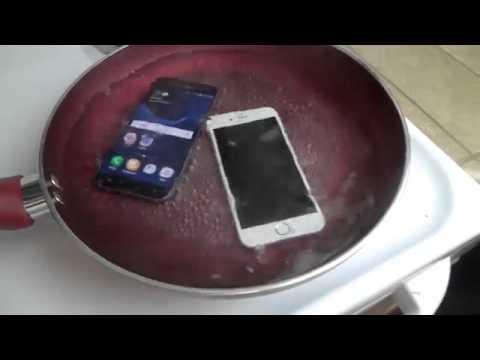Đun sôi Galaxy S7 và iPhone 6S