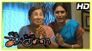 Kanchana Tamil Movie Horror Scenes | Raghava Lawrence | Sarathkumar | Kovai Sarala | Devadarshini