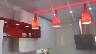 Светодиодные светильники Evita и Santiago для кухни(Мебельные светодиодные светильники для кухни или для шкафов купе Evita и потолочный светильник Santiago - неплох..., 2015-05-19T05:42:36.000Z)
