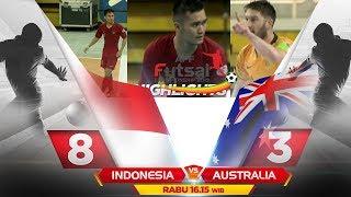 DI LIBAT HABIS! INDONESIA VS AUSTRALIA ( FT: 8 - 3 ) - HIGHLIGHTS AFF FUTSAL CHAMPIONSHIP 2019