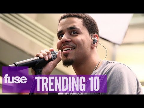"J. Cole ""Born Sinner"" Hits #1 - Trending 10 (07/10/13)"