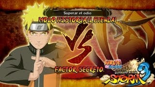 Naruto Shippuden: Ultimate Ninja Storm 3 Walkthrough + Full Burst - Parte 15 |Capitulo 4 Naruto vs Kyubi 9 colas Gameplay Español/Japanese 1080p Xbox360/PS3