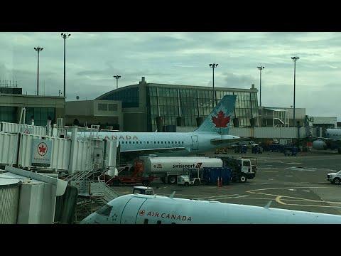 Air Canada A319 Flight YVR-BOS