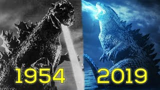 Evolution of Godzilla in Movies (1954-2019)