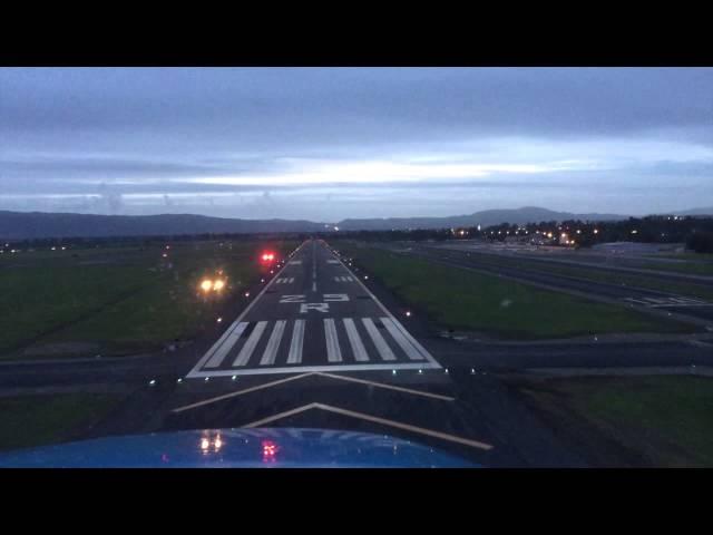 KLVK Landing