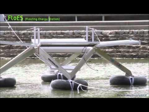FloES ( Floating Energy Station) test float