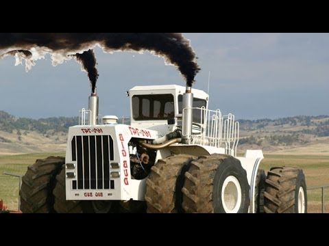 Big Bud 747 World S Biggest Tractor German Made Youtube