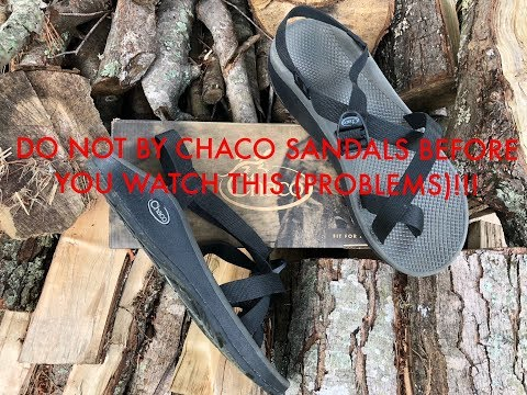 DO NOT BUY CHACO SANDALS UNTIL YOU WATCH THIS!!! (PROBLEMS)