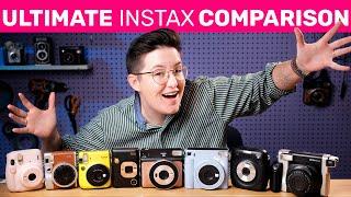 Ultimate Fujifilm Instax Comparison - 2020