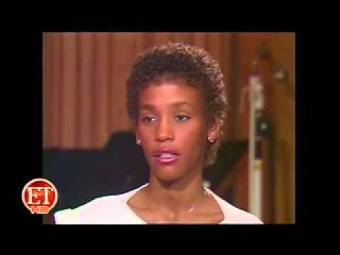 Whitney Houston first ET interview 1984