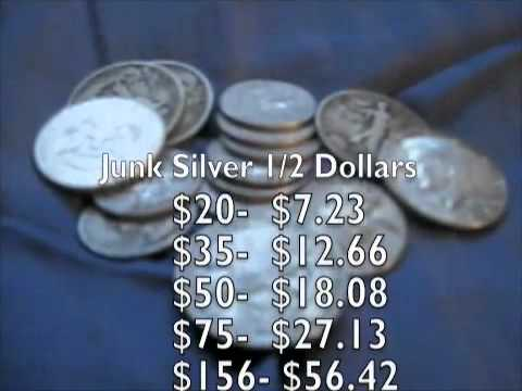 Junk Silver Value - REFERENCE VID