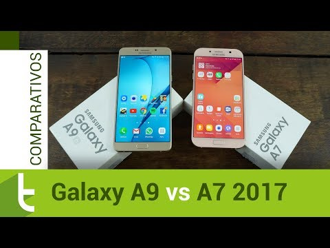 Comparativo: Galaxy A9 vs A7 2017 | Review do TudoCelular