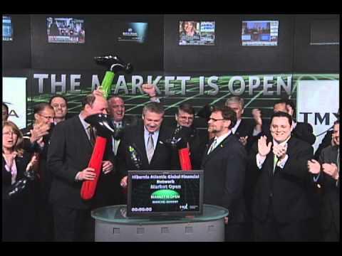 Hibernia Atlantic Global Financial Network opens Toronto Stock Exchange, September 30, 2010