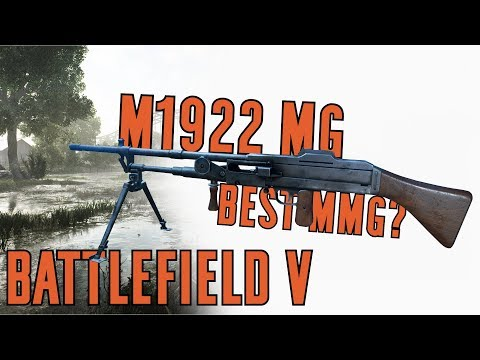 M1922 MG Specialization Breakdown & Gameplay - Battlefield V thumbnail