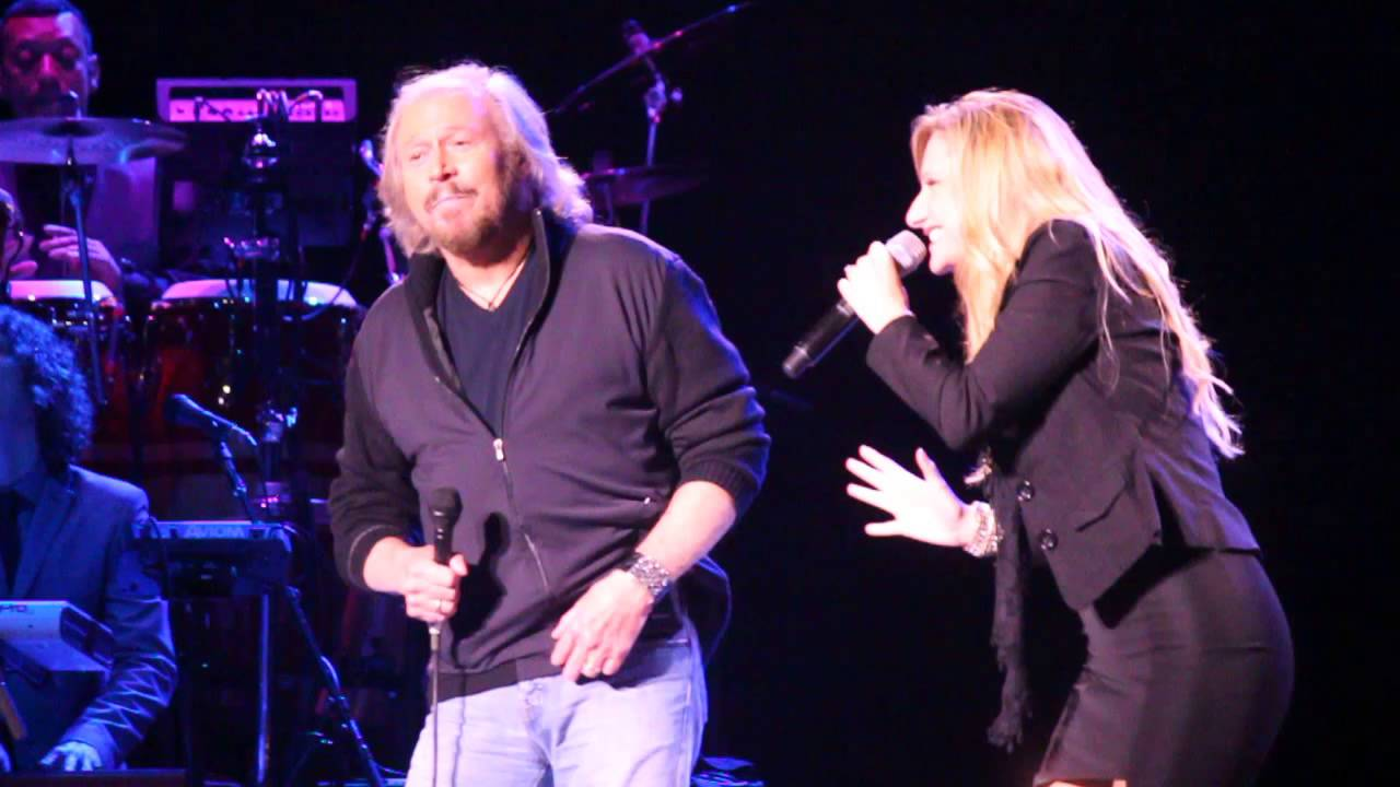HD Barry Gibb w Beth Cohen  Guilty live from the