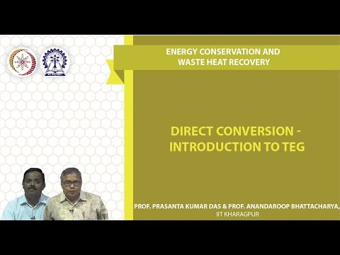 Direct Conversion - Introduction to TEG