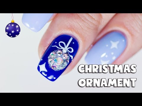 BLING CHRISTMAS NAIL ART
