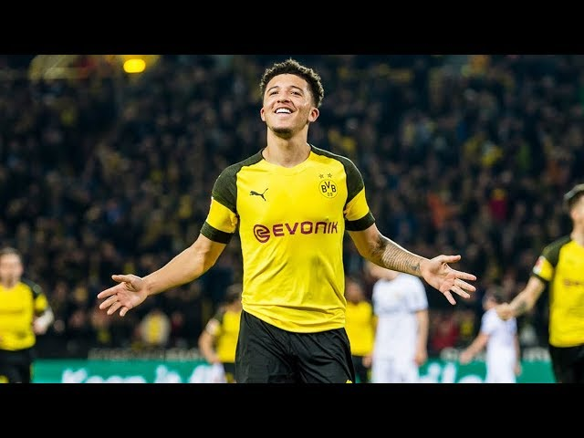 Jadon Sancho | Best Of Skills, Assists and Goals for Borussia Dortmund